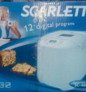 Новая хлебопечка scarlett sc-400