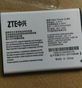 новый аккумулятор ZTE Blade Q
