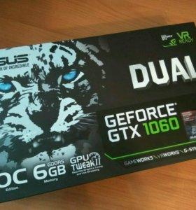 Видеокарта ASUS GeForce GTX 1060 DUAL OC