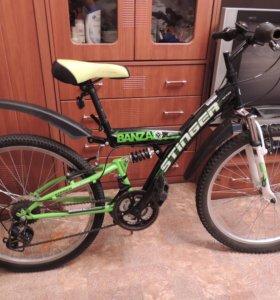 Велосипед подростковый STINGER