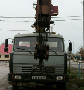 Кран Автомобильный КАМАЗ 53215
