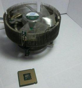 Процессор intel core2 с боксовым кулером