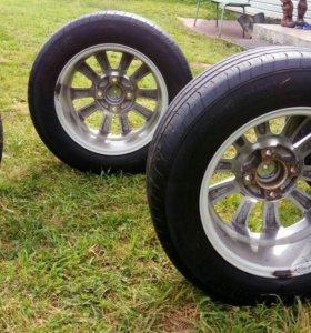 Литые диски с шинами