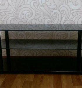 Напольная стеклянная подставка для телевизора
