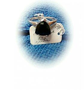 Кольцо с сапфиром 925 проба