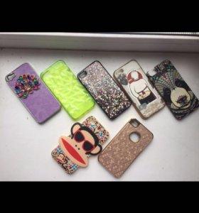 Чехлы на iPhone 5/5s 4/4s