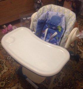 Детский стул для кормления Chicco Polly