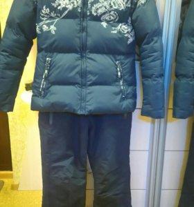 Зимний, тёплый костюм женский