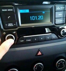 Штатная магнитолла Hyundai Creta