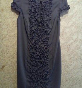 Платье с накидкой.