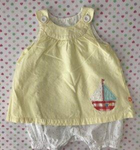 Платье-боди Mothercare