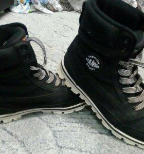 Мужские ботинки- кроссовки