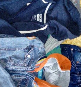Вещи пакетом на мальчика 5-6 лет