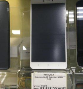 Xiaomi Redmi note 4 32Гб