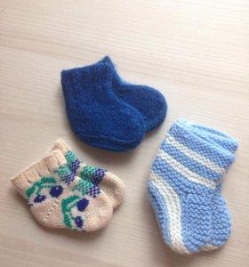 Носки и пинетки