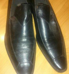 Туфли лоферы р. 38