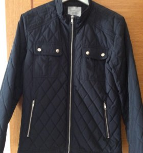 Mужская демисезонная куртка Selected синяя