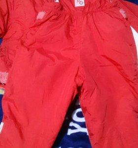 Куртка и комбинезон 80 +6