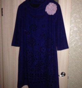 Платье шерстяное нарядное