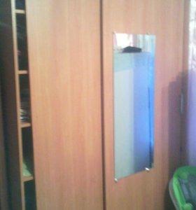 Трёх створчатый шкаф-купе