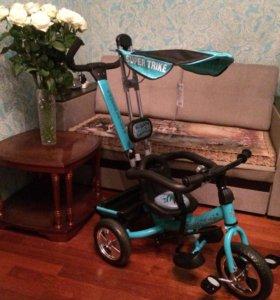 Новый!!!Велосипед детский трехколёсный Super Trike