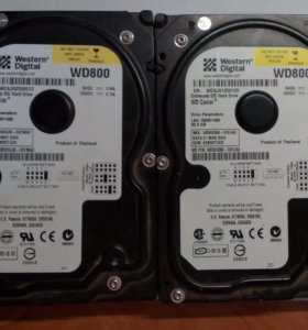 Жесткие диски Western Digital WD 80 GB (WD800BB)