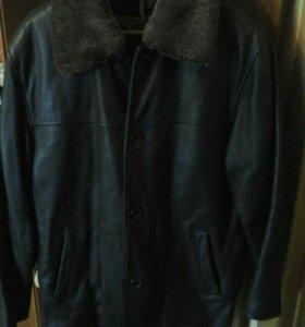 Куртка мужская зимняя с меховой пристёжкой