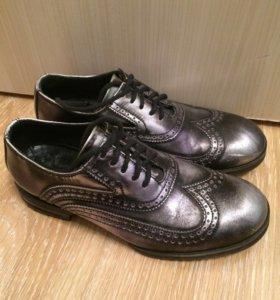 Armani мужские ботинки броги 41 р