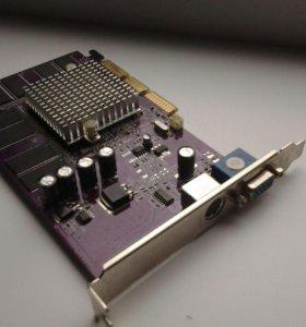 Видеокарта Geforce Mx440 8x 64mb ddr tv out