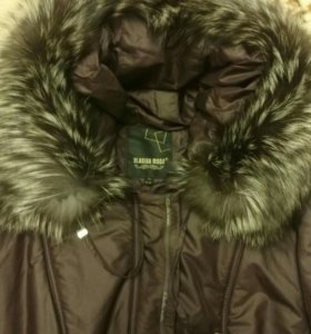 Зимнее пальто. 54-56 р.