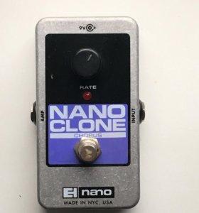 Педаль Electro-Harmonix Nano Clone Chorus