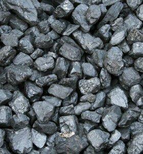 Уголь сортовой в мешках.