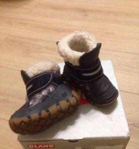 Зимние ботинки ОLANG размер 19/20
