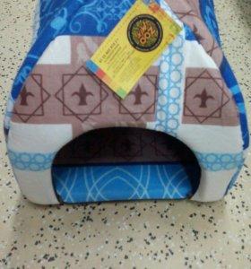Домик для собак и кошек 28*28*24 см бязь