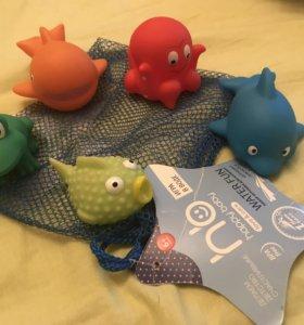 Игрушки для ванной happy baby 6+
