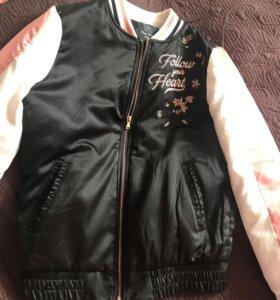 Куртка бомбер летняя