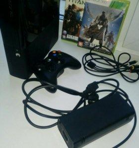 Xbox 360 E 500gb + игры