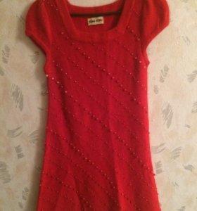 Платье/свитер Miu Miu