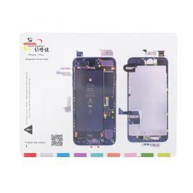 Магнитный коврик Mechanic Iphone 7+