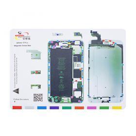 Магнитный коврик Mechanic для iPhone6+