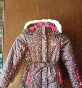 Куртка новая для девочки теплая