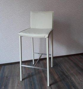 Барные кожаные стулья от BoConcept, 2 шт.