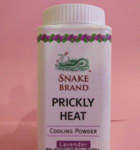 Тайская пудра тальк Lavender SNAKE BRAND 50г