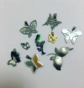 Ювелирная сталь, эмаль, керамика