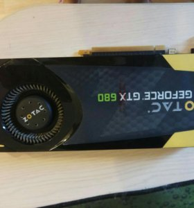 Видеокарта zotac geforce gtx680 2gb