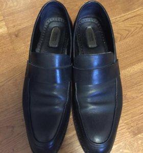 Кожаные туфли alfani