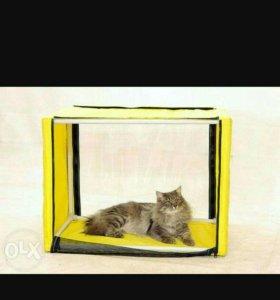 Палатка – клетка для кошки выставочная