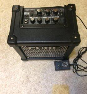 Комбик, комбоусилитель Roland cube GX