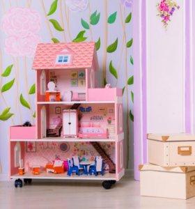 Кукольный домик новый!