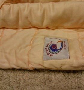 Вкладыш для новорожденных в эргорюкзак